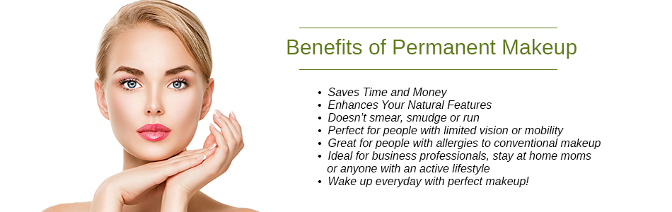 Benefits of Permanent Makeup